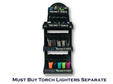 TECHNO 3-TIER LIGHTER DISPLAY
