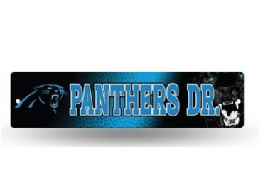 PANTHERS STREET SIGN