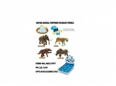 3-D ICE AGE PUZZLE