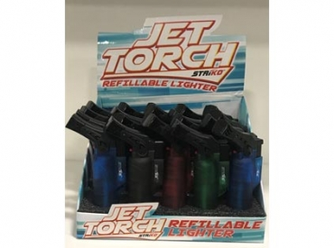 JET TORCH SCROLL TANK LIGHTER