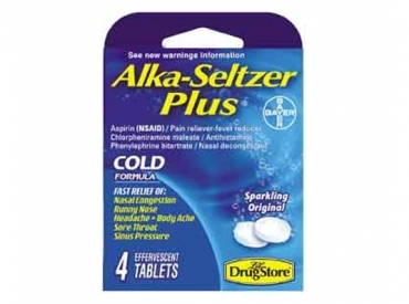 ALKA SELTZER PLUS COLD