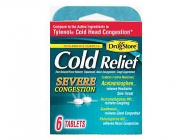 SEVERE CONGESTION COLD RELIEF