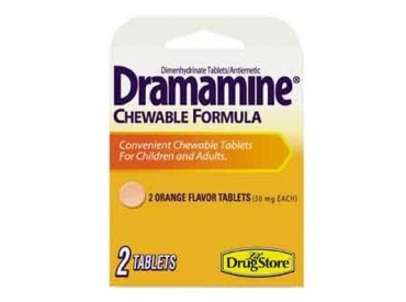 DRAMAMINE CHEWABLE TABLETS