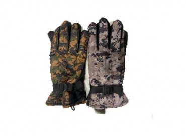 CAMO LINED GLOVES