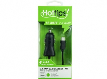 H-TIP TYPE-C 2.4A CAR CHARGER