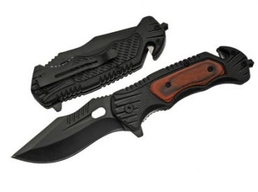 WOOD TACTICAL KNIFE
