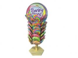 SWIRL POP ON WOOD TREE