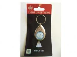 UNC LED KEYCHAIN