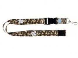 UNC COLOR CAMO LANYARD