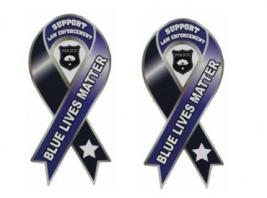 BLUE LIVES MATTER MAGNET