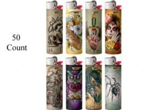BIC TATTOO LIGHTERS