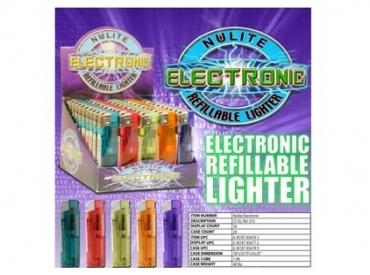 ELECTRONIC CLEAR LIGHTER