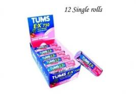 TUMS 1 ROLL EX BERRY