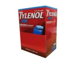 TYLENOL PM SINGLE DOSE