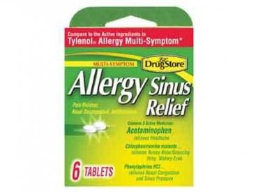 ALLERGY SINUS RELIEF NPSE