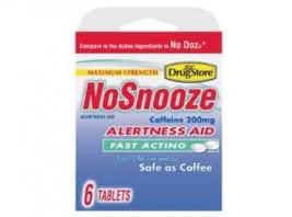 NO SNOOZE ALERTNESS AID