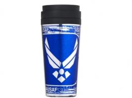 AIR FORCE METALLIC TUMBLER
