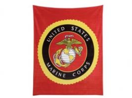 MARINES THROW BLANKET