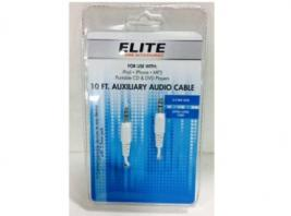 AUXILARY AUDIO CABLE-10 FT