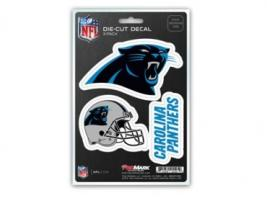 PANTHERS 3PK DECAL SET