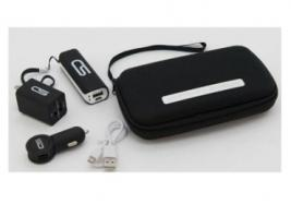 EMERGENCY CHARGING KIT W/POUCH