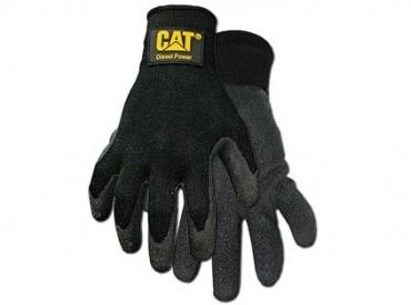 CAT KNIT GLOVE W/LATEX