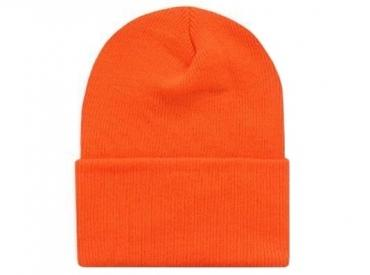 BLAZE ORANGE KNIT CAP