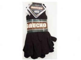3PK BROWN JERSEY GLOVES