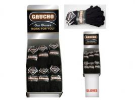 3PK BROWN JERSEY GLOVE SHIPPER