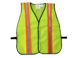 SAFETY VEST-NEON GREEN