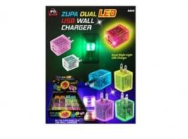 DUAL LED WALL CHARGER