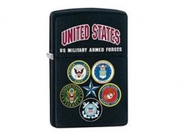 ZIPPO Armed Forces Black