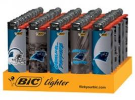 CAROLINA PANTHERS BIC LIGHTER