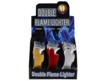 DOUBLE FLAME LIGHTER