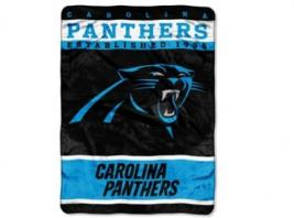 PANTHERS ROYAL PLUSH BLANKET