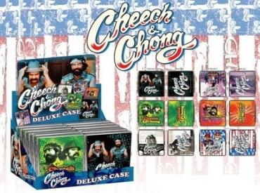 CHEECH & CHONG CIG CASE (LEATH