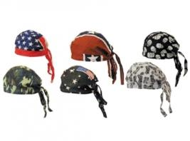 SKULL CAPS ASSORTED DESIGNS