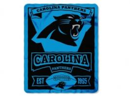 PANTHERS FLEECE THROW