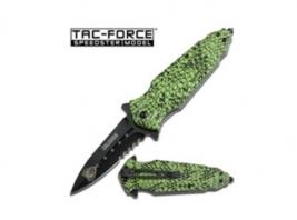 GREEN COBRA SPRING ASSIST KNIF