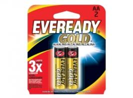 EVEREADY GOLD ALKALINE AA 2PK