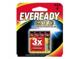 EVEREADY GOLD ALKALINE AA 4PK