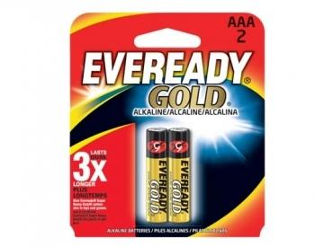 EVEREADY GOLD ALKALINE AAA 2PK