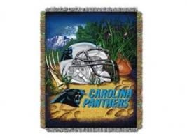 PANTHERS TAPESTRY THROW