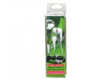 H-TIP STEREO EARBUDS W/MIC & R