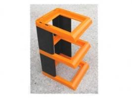 LIGHTER RACK ORANGE & BLACK